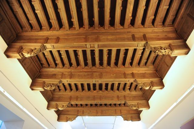 Museo Diocesano Barbastro, artesonado