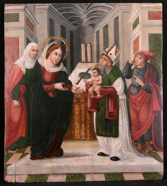 Circuncisión de Jesús. Siglo XVI