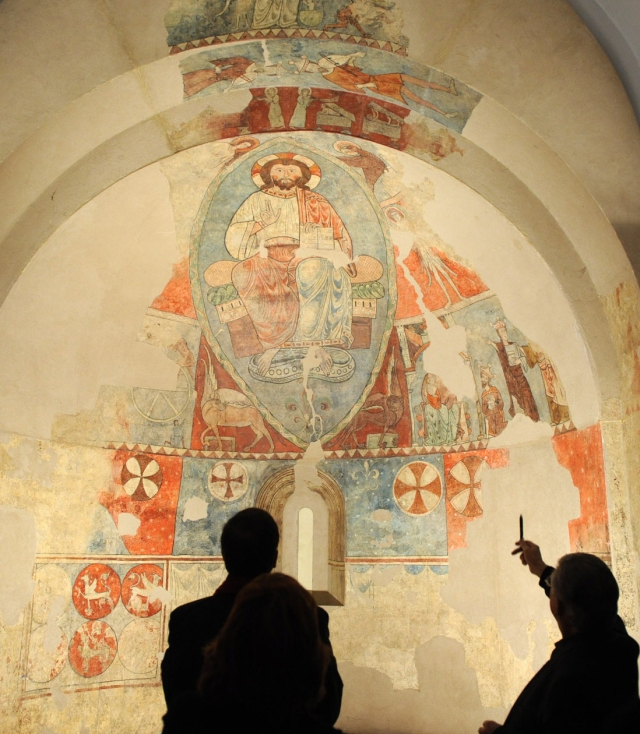 Museo Diocesano Barbastro Pantocrátor Vio