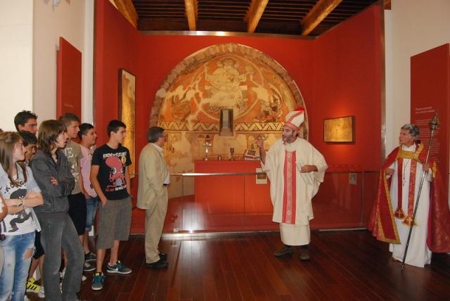 Visitas teatralizadas al Museo Diocesano de Barbastro-Monzón J.L. Pano