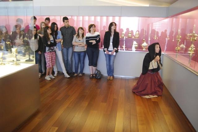 Visitas teatralizadas al Museo Diocesano de Barbastro-Monzón.  J.L. Pano