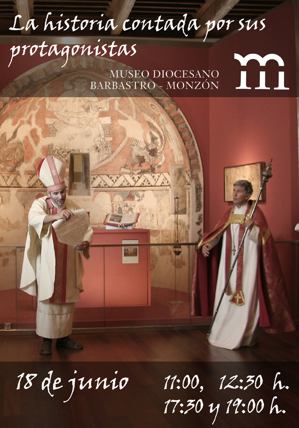 cartel 18 junio Museo Diocesano de Barbastro-Monzón