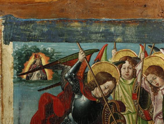 Retablo de Vio, fragmento. Principios del S. XVI. Museo Diocesano de Barbastro-Monzón