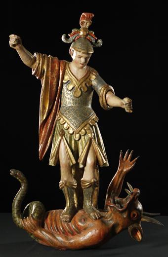 San Miguel de Tricas. S. XVIII. Museo Diocesano de Barbastro-Monzón