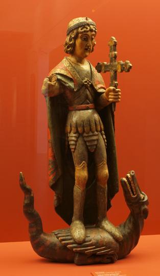 San Miguel de Troncedo. S. XV. Taller ribagorzano. Museo Diocesano de Barbastro-Monzón. Foto A. Omedes