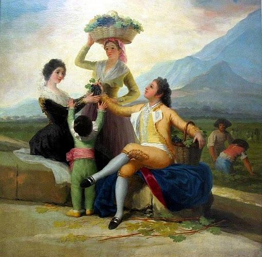 Goya. La vendimia.