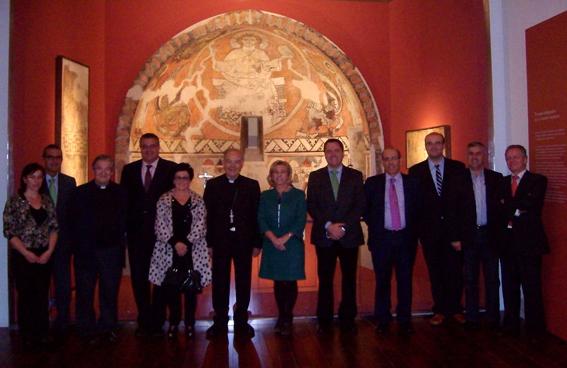 Visita de la Consejera Dolores Serrat al Museo Diocesano
