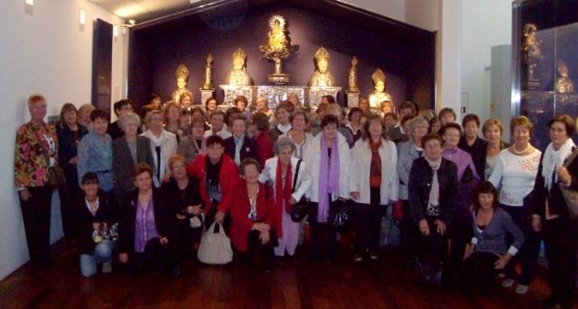 Reunión de delegadas de AFAMMER en el Museo Diocesano