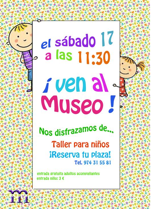 Taller para niños en el Museo Diocesano de Barbastro-Monzón