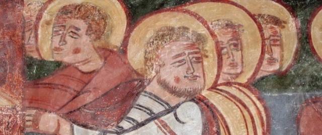 Pinturas románicas de Bagüés. Museo Diocesano de Jaca