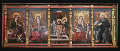 Predela de Fanlo. Museo Diocesano de Barbastro-Monzón