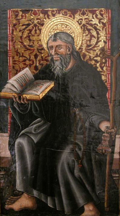 San Antonio Abda. Museo Diocesano de Barbastro-Monzón