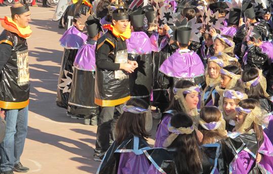 La corte de los Médici. Carnaval del C.P. La Merced, 2012