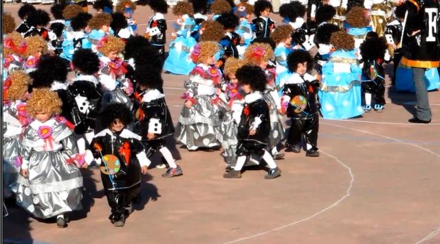 Meninas y Dieguillos. Carnaval del CP La Merced, 2012
