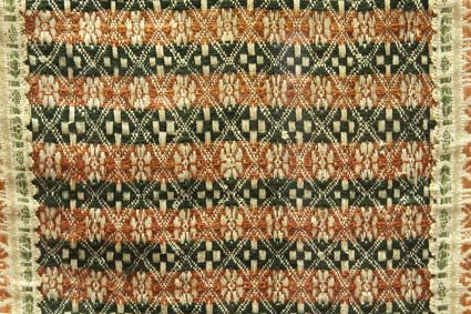 Casulla mudéjar. Museo Diocesano de Barbastro-Monzón