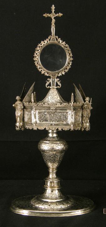Copón Ostensorio de Fanlo. Museo Diocesano de Barbastro-Monzón