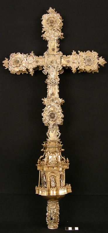 Cruz de La Puebla de Castro. Museo Diocesano de Barbastro-Monzón