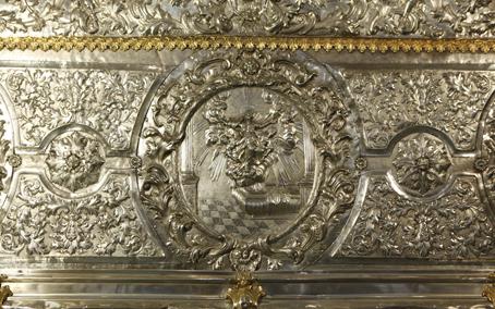 Detalle frontal. Museo Diocesano de Barbastro-Monzón