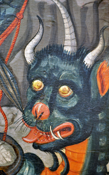 Detalle San Miguel de Abi Foto C Gil Museo Diocesano Barbastro-Monzón
