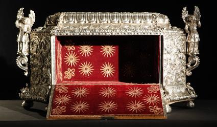 Interior del Arca de Jueves Santo