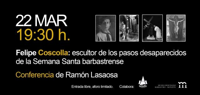 Invitación Conferencia F Coscolla