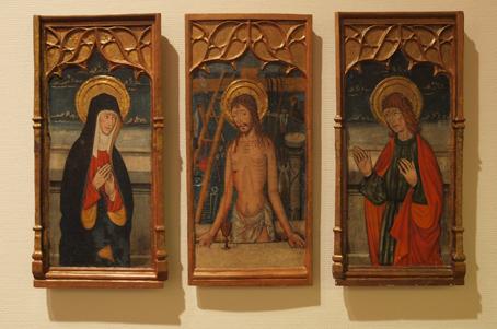 Tablas de un sagrario. Hospital de San Julián de Barbastro. Bartolomé García de Benabarre, 1496 Foto AG Omedes