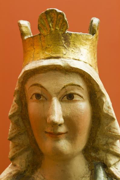 Virgend e Rañín. Detalle Museo Diocesano de Barbastro-Monzón. Foto A. Tolosa