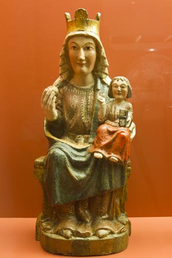 Virgen de Rañín Foto A Tolosa Museo Diocesano de Barbastro-Monzón