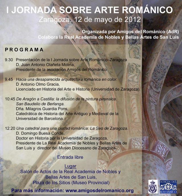 I Jornadas de Arte Románico- Zaragoza