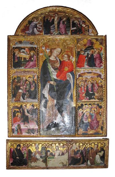 Retablo de Oto, Blasco de Grañén. Museo Diocesano de Barbastro-Monzón
