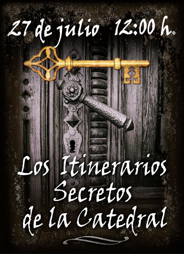 cartel itinerarios secretos27JUL12 Museo Diocesano de Barbastro-Monzón