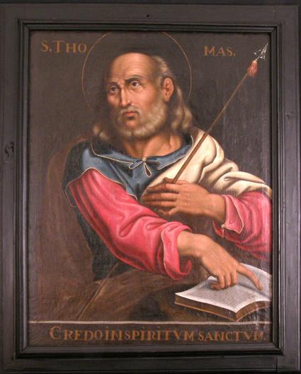 Santo Tomás Apóstol. Museo Diocesano de Barbastro-Monzón