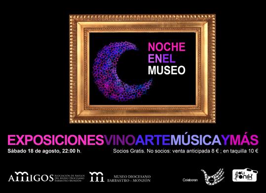 noche en el museo 2012 Museo Diocesano de Barbastro-Monzón