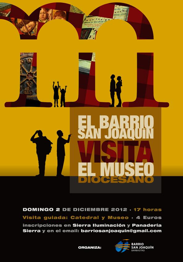 El Barrio de san Joaquín visita el Museo