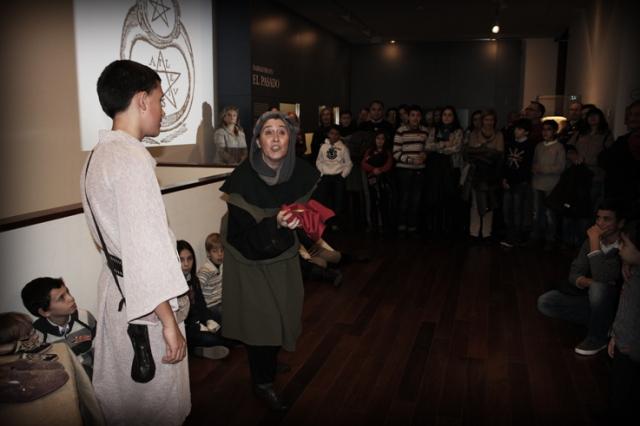 Visita Teatralizada en el Museo Diocesano de Barbastro-Monzón
