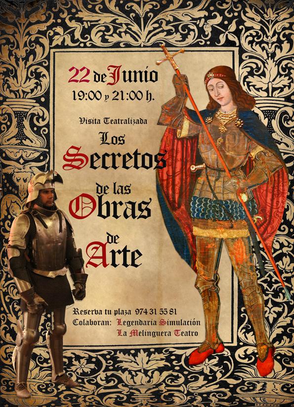 Visitas teatralizadas 22 de junio Museo Diocesano de Barbastro-Monzón