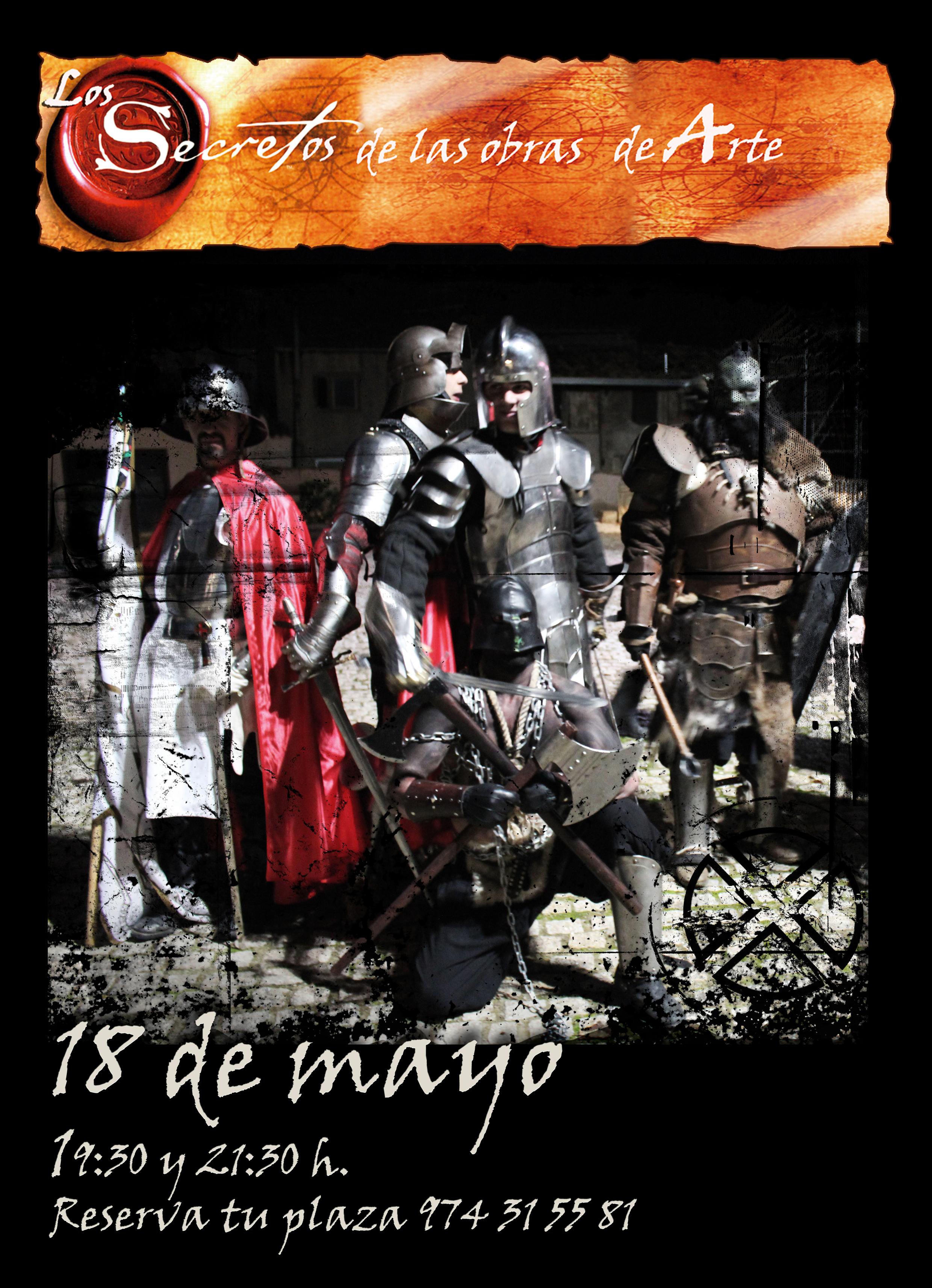 cartel Visita Teatralizada Museo Diocesano de Barbastro-Monzón