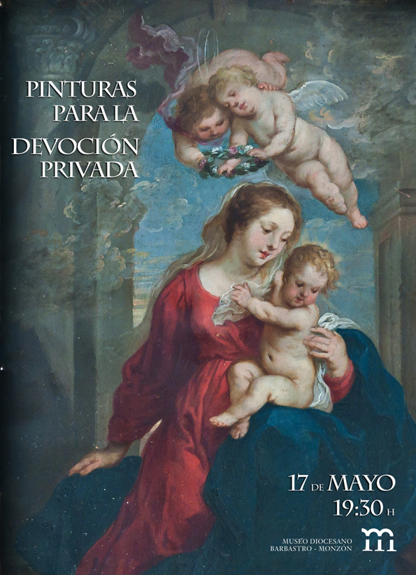 Cartel Pinturas para la devoción privada
