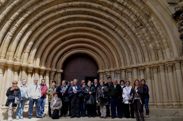 la Asociación de Amigos Museo Diocesano de Barbastro-Monzón en el Monasterio de Sijena