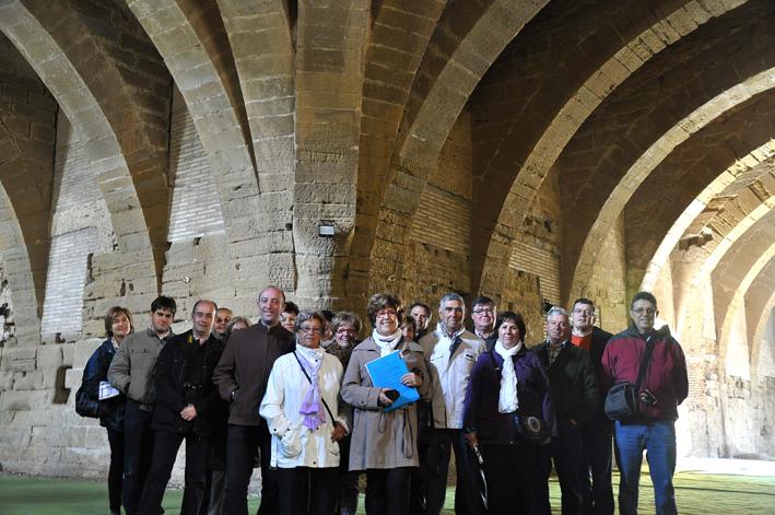 Primer viaje cultural de la Asociación de Amigos Museo Diocesano de Barbastro-Monzón
