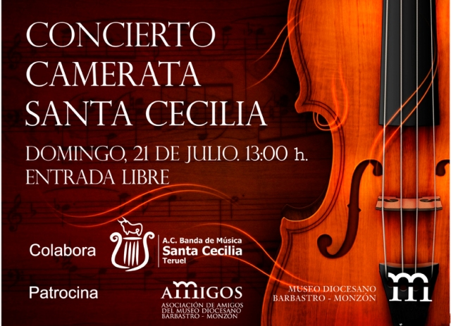 Concierto Camerata Santa Cecilia Museo Diocesano 21JUL2013