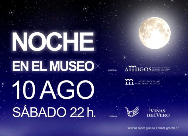 cartel Noche en el Museo