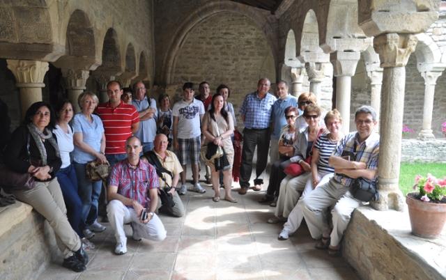 Claustro de Roda Asocaición de amigos del Museo Diocesano de Barbastro-Monzón