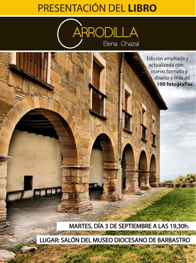 Presentación del Libro Carrodilla de Elena Chazal en el Museo Diocesano de Barbastro-Monzón