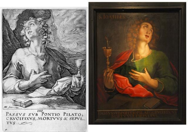 San Juan Goltzius- San Juan de San Victorián- Museo Diocesano de Barbastro-Monzón