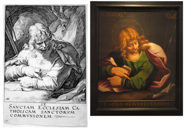 Santiago Menor Goltzius-San Simón de San Victorián-Museo Diocesano de Barbastro-Monzón