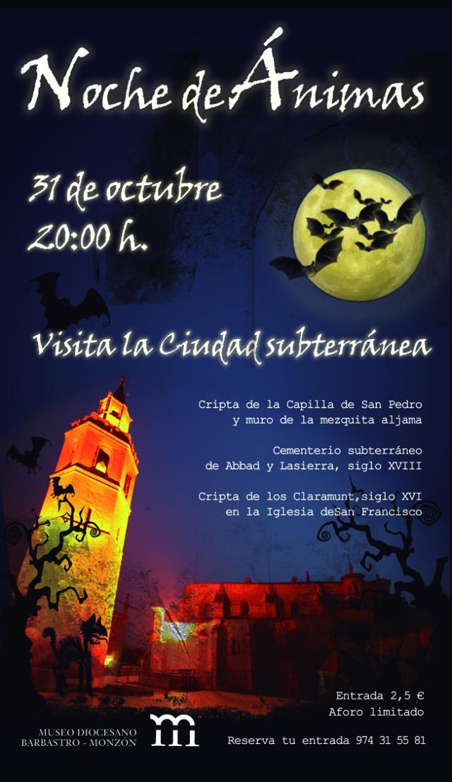 Noche de ánimas en el Museo. Museo Diocesano Barbastro-Monzón