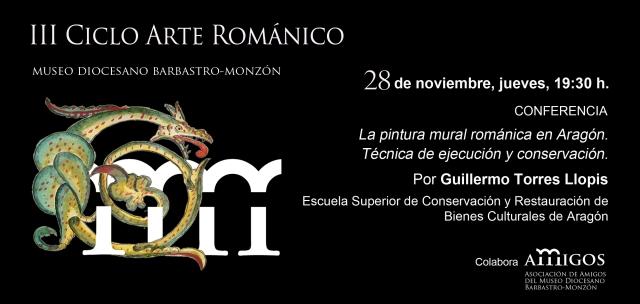 invitación III ciclo Arte Románico 28NOV13
