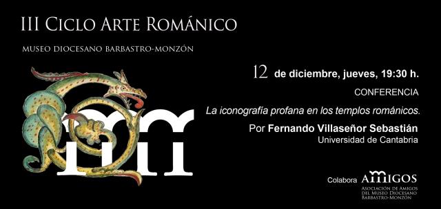 III ciclo Arte Románico en el Museo Diocesano de Barbastro-Monzón