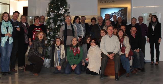 Voluntarios y colaboradores del Museo Diocesano de Barbastro-Monzón